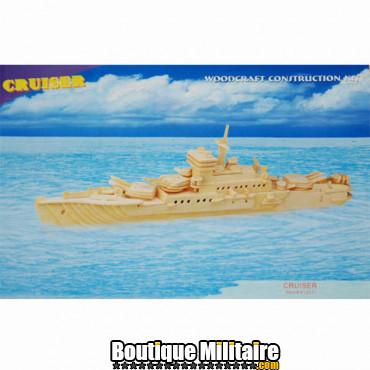 Puzzle en bois, croiseur