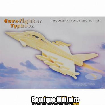Puzzle en bois, eurofighter