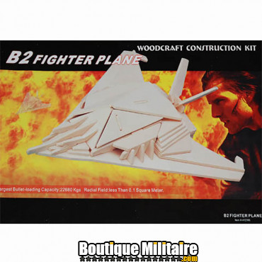 Puzzle en bois, B2 fighter