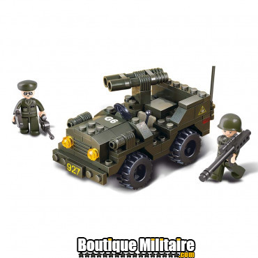 Sluban - Jeep . M38-B5800 ne convient pas pour des enfants de moins de six ans