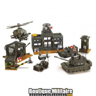 Sluban - Quartier général militaire . M38-B7100