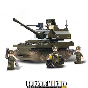 Sluban - Tank + soldats . M38-B9800 ne convient pas pour des enfants de moins de six ans