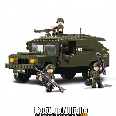Sluban - Suv armé + soldats . M38-B9900