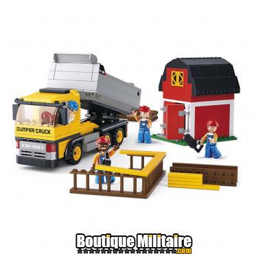 Sluban - camion benne + chantier- M38-B0552