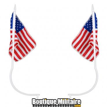 Plaque déco en métal - flag USA