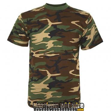 T-shirt Fostee camo