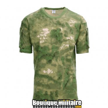 T-shirt avec poches tactiques