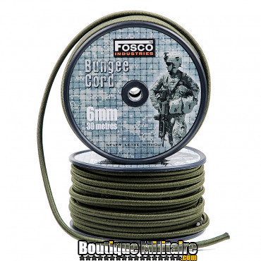 Corde élastique 6 mm 30 mtr.