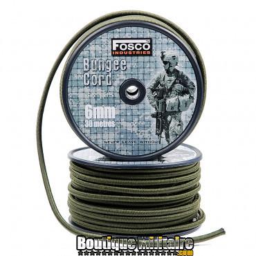 Corde élastique 6 mm 60 mtr.