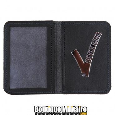 Portefeuille en cuir V