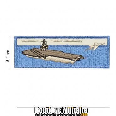 Patch aircraft carrier - blue 4093