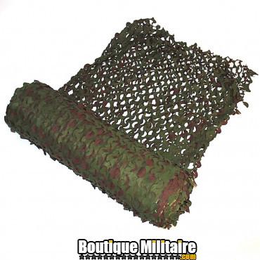Filet de camouflage en rouleaux de :78x2,4m , WOODLAND