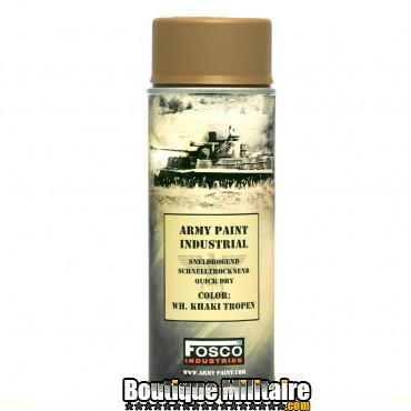 Boîte 6 pcs Bombes peintures militaires - 400ml
