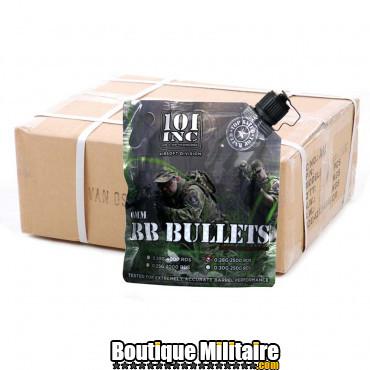 Carton de 30 sacs de billes Airsoft - 0.28g - 6mm