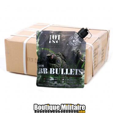 Carton de 20 sacs de billes - Airsoft extreme 0.20g. 6mm
