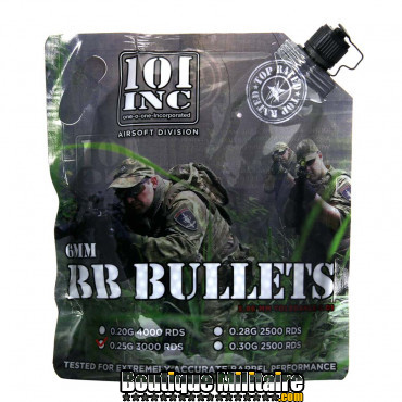 Sac de billes - Airsoft extreme 0.25g. 6mm bag