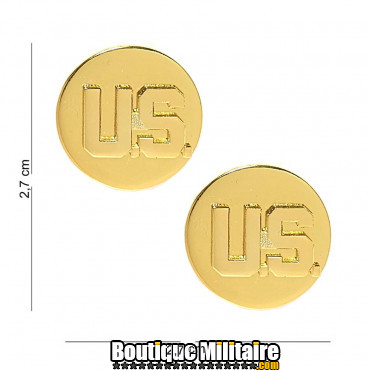 Badge - boutons de col - US Device 6005