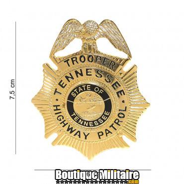 Badge - trooper tennessee highway patrol - or 7021