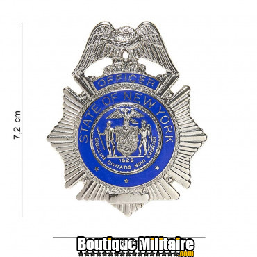 Badge - officer state New York 6019