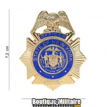 Badge - oficer state of New York 6017