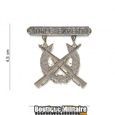 Badge - deux fusils 6069