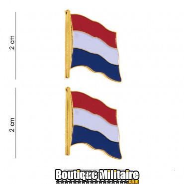 Badge drap hollandais 2 pieces 7070