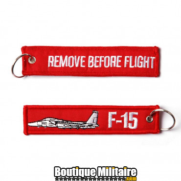Porte-clés RBF + F-15