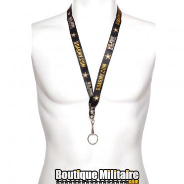 Courroie porte-clés US army