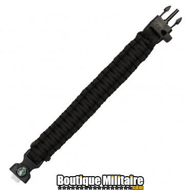 Bracelet Paracord survie avec boussole - 8 inch JYFPB04