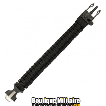 Bracelet Paracord avec allume feux et sifflet - 9 inch JYFPB05