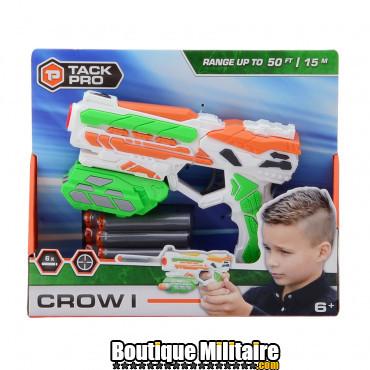 Pistolet Tack Pro avec 6 fléchettes 18 cm 02