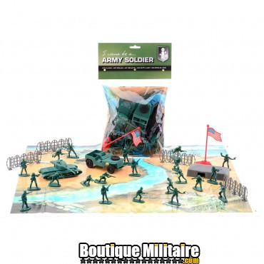 Set de soldats en plastique, Army
