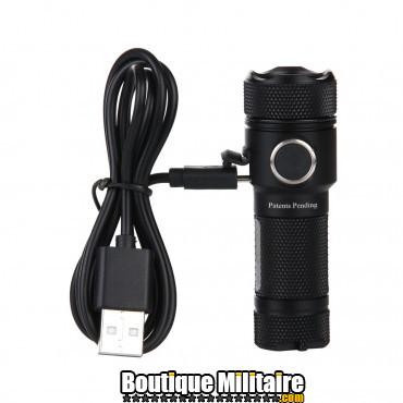 PowerTac lampe torche E10R rechargeable