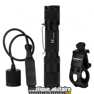 Kit de Lamp torche pour armes - PowerTac .E5G4-W