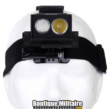 PowerTac lampe frontale Explorer HL10 rechargeable