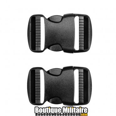 Boucles de rechange tactiques - 38 mm set de 2 pcs