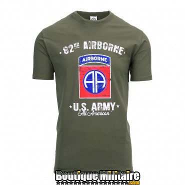 T-shirt - U.S. Army 82nd Airborne