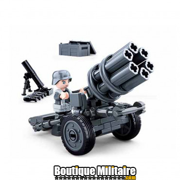 Sluban German Army Rocket gun M38-B0680A 16132