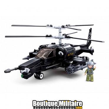 Sluban Combat helicopter M38-B0752 16167
