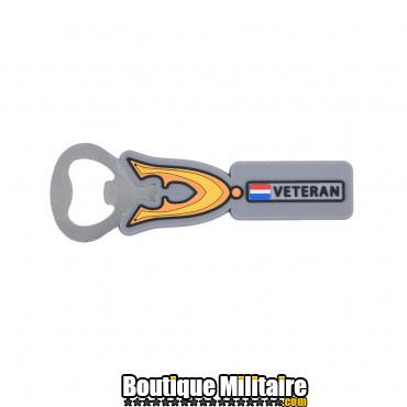 Ouvre-bouteille en acier - Dutch Veteran