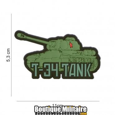 Patch 3D PVC T-34 tank 19073