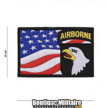 Patch en tissus 101st Airborne flag 19083