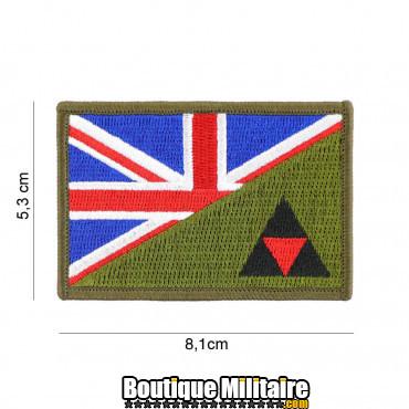 Patch en tissus 3rd Infantry half flag 20018