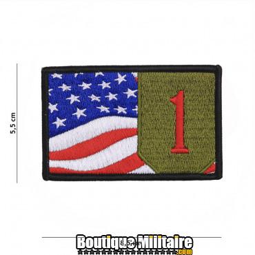 Patch en tissus 1st Infantry flag 19086