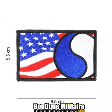 Patch en tissus 29th Infantry flag 19087