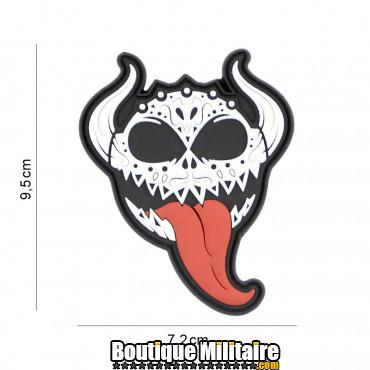 Patch 3D PVC Devil tongue 8138