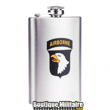 Flasque 6 onces 101st Airborne RVS