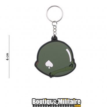 Porte-clés 3D PVC 506PIR Helmet WWII 113