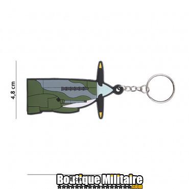Porte-clés 3D PVC Spitfire 108