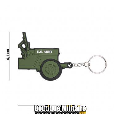 Porte-clés 3D PVC Jeep U.S. Army 105
